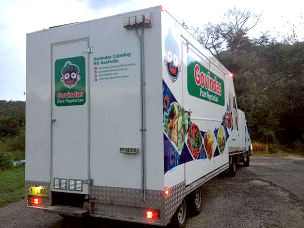 Govindas Catering - Mobile Portable Semi-Trailer Kitchen