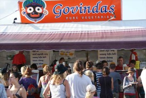 Govindas attracts huge crowds at BluesFest each year